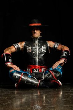 The Mighty Kung Lao - Mortal Kombat 9 Cosplay by LeonChiroCosplayArt.deviantart.com