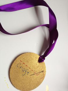 Olympic Party 101:  DIY Gold Medals for your guests to decorate!