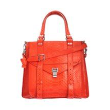 Proenza Schouler PS1 Tote Python
