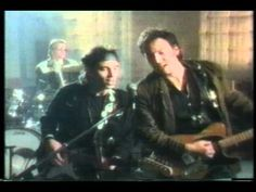"""Official music video for Nils' song """"Valentine"""" with guests Bruce Springsteen and Ringo Starr. 1992  Recorded on a VCR when it was first released, so obviously the quality suffers a bit. THE Powers that BE at YT decided that I was violating a copyright and removed the sound. Interesting...."""