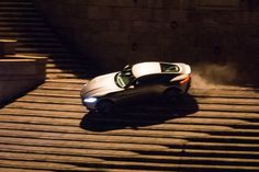 Shooting Spectre -  Aston Martin DB10 chase on the steps of the Tiber, in Rome. 03-06-2015 See more in :  http://roma.repubblica.it/cronaca/2015/03/06/foto/bond_-108888546/1/#1