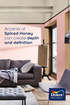 Our Colour of the Year Spiced Honey could transform your living space! Living Spaces, Living Room, Color Of The Year, Colorful Interiors, Color Inspiration, Small Spaces, My House, Spices, Honey