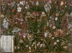 Girolamo Pini (Italian) | Etude de Fleurs, 1614