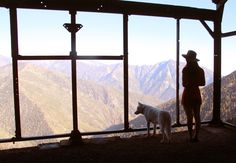 johnandwolf:  Looking out from the long abandoned Big Horn Mine.Angeles National Forest, CA / June 2014