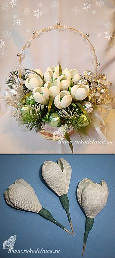 Мастер-класс: новогодний букет из конфет «12 месяцев». Easy Paper Flowers, Candy Flowers, Tissue Flowers, Paper Flowers Wedding, Paper Flower Tutorial, Diy Flowers, Flower Crafts, Flower Art, Liquor Bouquet