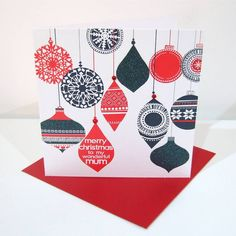Image result for mum christmas card