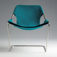 Design, Paulistano canvas armchair by Paulo Mendes da Rocha for Objekto