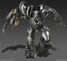 Megatron (Transformers); by Josh Nizzi