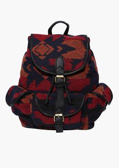 Arizona Dream Backpack in Red | Necessary Clothing