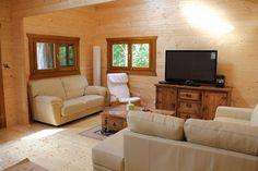 Nice interior,  Log Cabins Scotland