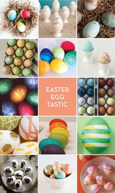 EASTER EGG TASTIC – 14 ways to dye your eggs!