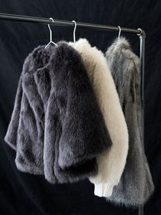 'Tis the season to bust out the (faux) fur! Added luxury to each and every holiday look. Shop our faux fur outerwear.