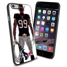 NFL Houston Texan Watt , Cool iPhone 6 Smartphone Case Cover Collector iphone TPU Rubber Case Black Phoneaholic http://www.amazon.com/dp/B00V2US7JS/ref=cm_sw_r_pi_dp_31hmvb0KC3JRN