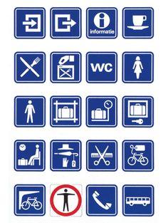 Studio Dumbar: NS – Dutch Railways Visual Identity & Information Graphics