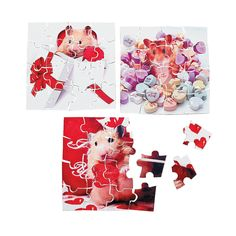 Mini Valentine Animal Puzzles - OrientalTrading.com Sunnys class