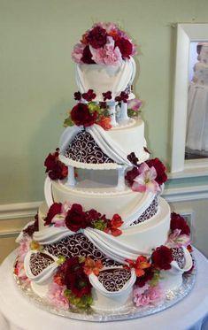 Stunning cake By Konditor Meister Elegant Wedding Cakes.