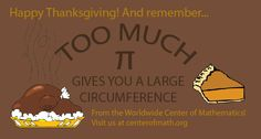 #HappyThanksgiving! The Worldwide Center of Mathematics wishes everyone a safe and happy holiday!