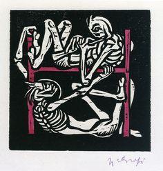 Hans Friedrich Grohs, Death and the Alphabet, 1924