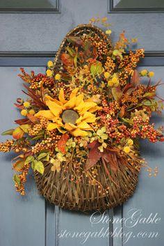 Basket for front door