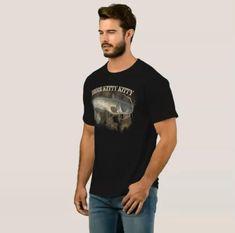 Here Kitty Kitty #Catfish Fishing T Shirt for your #FISHERMAN Funny Fishing Shirts, Fishing Humor, Catfish Fishing, Fishing Outfits, Here Kitty Kitty, Tshirt Colors, Fitness Models, Tee Shirts, Unisex