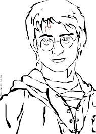how to draw harry potter characters step by step easy