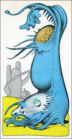 Edd Cartier - Travelers of Space (Gnome Press 1951) 12 by Aeron Alfrey, via Flickr