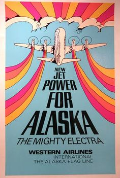 Western Airlines - New Jet Power for Alaska