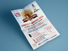 Volantino Mestolo d'Oro Ideazione e stampa di volantino e poster per gara culinaria