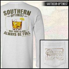 Southern Optimist LS Pocket Tee