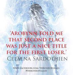 ~Celaena Sardothien, Throne of Glass first loser! @Abby Christine Christine Sauer