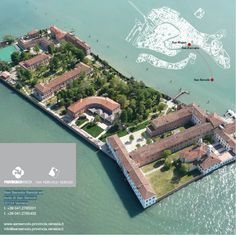 Isola di San Servolo, Venice where venice international university is