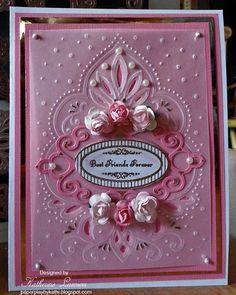 Paper Play by Kathi: Vellum Best Friends Card JRC#093