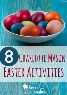 Looking for some great Easter traditions for your homeschool or your family? Explore the meaning of the cross and resurrection with these fun Charlotte Mason Easter activities! Easter Activities For Kids, Holiday Activities, Fun Activities, Easter Games, Spring Activities, Easter Traditions, Charlotte Mason, Christian Parenting, Christian Homeschool