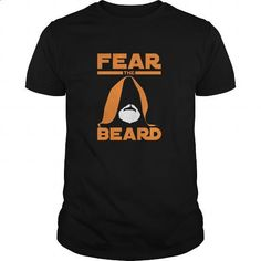 STAR WARS FEAR THE BEARD - #casual shirts #white hoodies. MORE INFO => https://www.sunfrog.com/Movies/STAR-WARS-FEAR-THE-BEARD-Black-Guys.html?60505