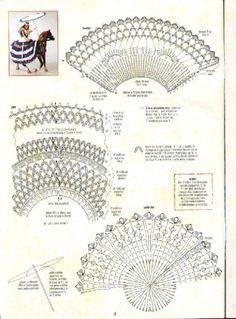 Vestido de Boneca em Crochê -  /  Crochet Doll Dress - 15