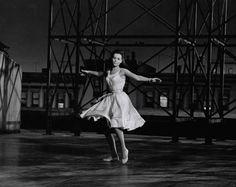 Natalie Wood in West Side Story, 1961.