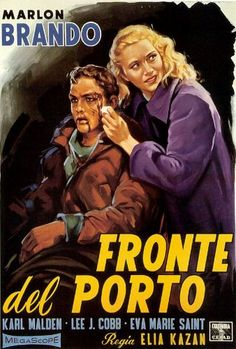 Fantastic A4 Glossy Print - 'Fronte Del Porto - On The Waterfront' 1954 (1) - Starring Marlon Brando - Taken From A Rare Vintage Italian Movie / Film Poster by Unknown http://www.amazon.co.uk/dp/B0095R9RSU/ref=cm_sw_r_pi_dp_qSZjvb0PMPY6X