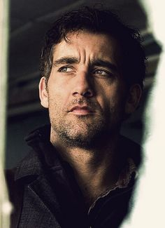 Clive Owen, mostly seen with a white collar.