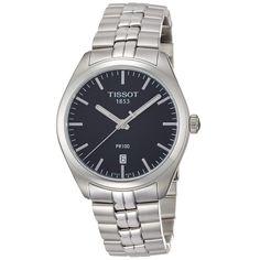 Tissot Men s T1014101105100 PR 100 Stainless Steel Watch 27c42e6234
