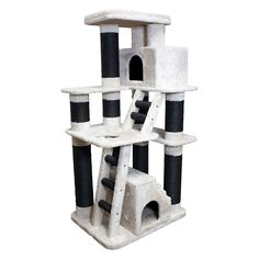 Kitty Mansions Chicago Cat Tree - CHICAGO CAT TREE