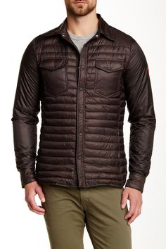 Quilted Jacket by Save The Duck on Gay Apparel, Gay Outfit, Quilted Jacket, Nordstrom Rack, Winter Jackets, Leather Jacket, Products, Fashion, Winter Coats