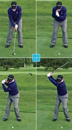 Four steps to a perfect position at the top #GolfSecrets