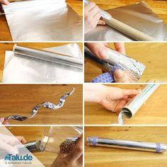 So einfach basteln Sie sich einen Regenmacher - hier sind drei Anleitungen mit einfachen Materialien, die Sie bereits daheim haben, zum Nachbasteln!