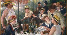 Will always remind me of Joyce as do all of Renoir and Manet. Her favourites.