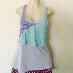 🆕Colorful tank top Pretty tank top in different colors. 76% polyester 17% rayon and 7%linen . Tops Tank Tops