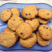 Μπισκότα με βρώμη και κομμάτια σοκολάτας Sweet Pie, Pancakes, Cookies, Pastries, Desserts, Food, Crack Crackers, Tailgate Desserts, Deserts