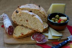 Tapitas y Postres: Pan rápido con chorizo