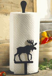 Moose Paper Towel Holder