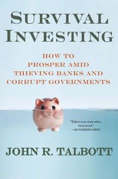 """"""" In this uncertain atmosphere, Talbott offers clear strategies on what you can do to protect your investments and your family. Among the global dynamics covered are: *the low-wage threat of China and India *the legitimacy of gold investing *the false security of diversification *the risks of sovereign debt . . . and why most economists are missing the boat."""""""