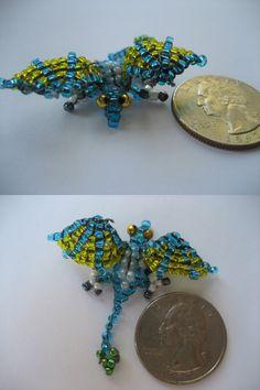 Bead Dragon I by kameeko.deviantart.com on @deviantART